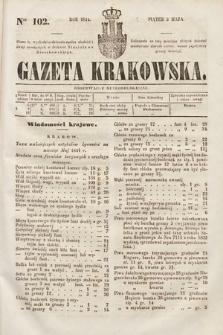 Gazeta Krakowska. 1844, nr102