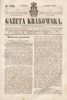 Gazeta Krakowska. 1844, nr105