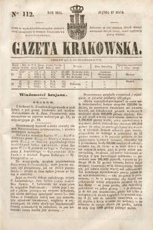 Gazeta Krakowska. 1844, nr112