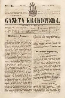 Gazeta Krakowska. 1844, nr115