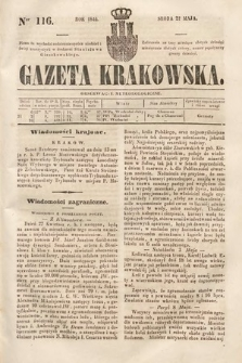 Gazeta Krakowska. 1844, nr116