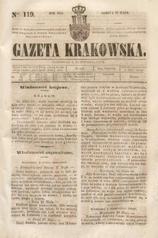 Gazeta Krakowska. 1844, nr119