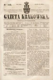 Gazeta Krakowska. 1844, nr123