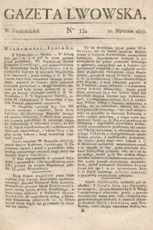 Gazeta Lwowska. 1817, nr12