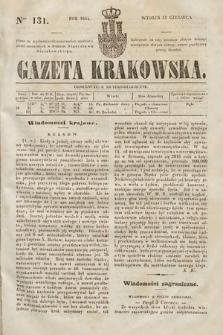 Gazeta Krakowska. 1844, nr131