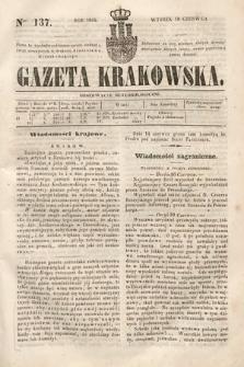 Gazeta Krakowska. 1844, nr137