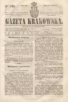 Gazeta Krakowska. 1844, nr138