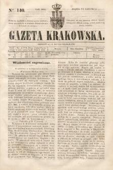Gazeta Krakowska. 1844, nr140