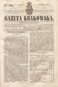 Gazeta Krakowska. 1844, nr150