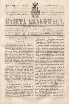 Gazeta Krakowska. 1844, nr152