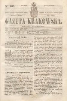 Gazeta Krakowska. 1844, nr163