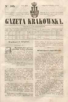 Gazeta Krakowska. 1844, nr165