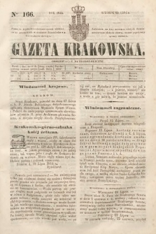 Gazeta Krakowska. 1844, nr166