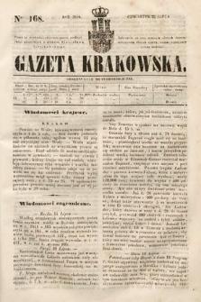 Gazeta Krakowska. 1844, nr168
