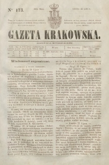 Gazeta Krakowska. 1844, nr173