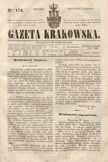Gazeta Krakowska. 1844, nr174