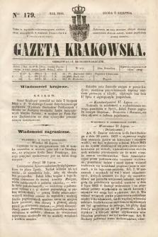 Gazeta Krakowska. 1844, nr179