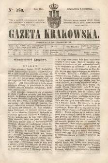 Gazeta Krakowska. 1844, nr180
