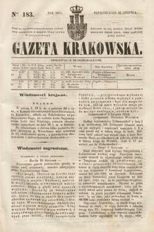 Gazeta Krakowska. 1844, nr183