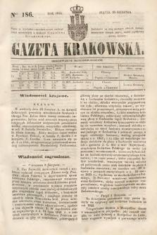 Gazeta Krakowska. 1844, nr186