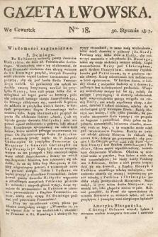 Gazeta Lwowska. 1817, nr18