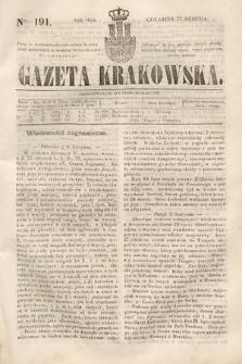 Gazeta Krakowska. 1844, nr191