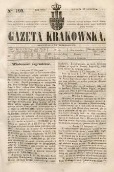 Gazeta Krakowska. 1844, nr195