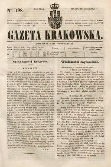 Gazeta Krakowska. 1844, nr198