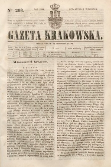 Gazeta Krakowska. 1844, nr203
