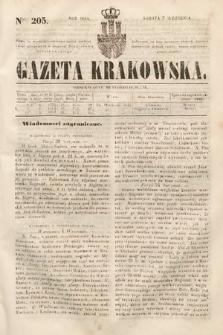 Gazeta Krakowska. 1844, nr205