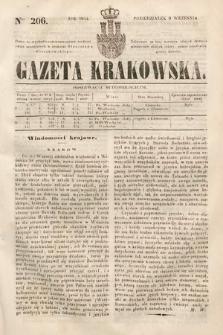 Gazeta Krakowska. 1844, nr206