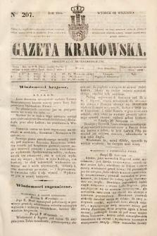 Gazeta Krakowska. 1844, nr207