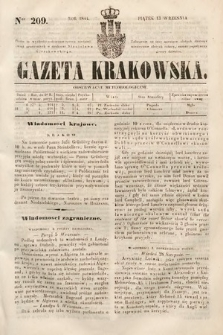 Gazeta Krakowska. 1844, nr209