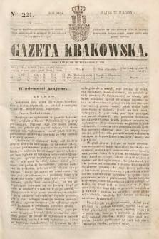 Gazeta Krakowska. 1844, nr221
