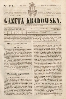 Gazeta Krakowska. 1844, nr222