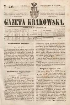 Gazeta Krakowska. 1844, nr223