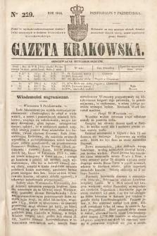 Gazeta Krakowska. 1844, nr229