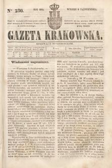 Gazeta Krakowska. 1844, nr230
