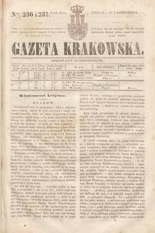 Gazeta Krakowska. 1844, nr236 i 237