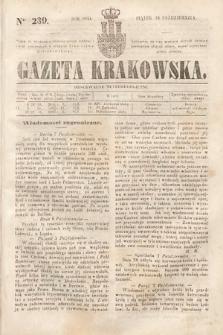 Gazeta Krakowska. 1844, nr239