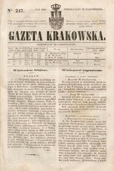 Gazeta Krakowska. 1844, nr247
