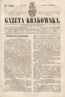 Gazeta Krakowska. 1844, nr254