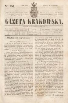 Gazeta Krakowska. 1844, nr257