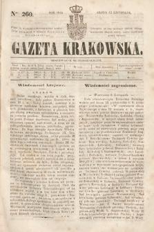 Gazeta Krakowska. 1844, nr260