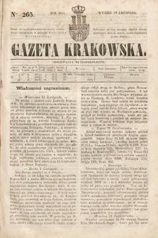 Gazeta Krakowska. 1844, nr265