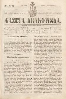 Gazeta Krakowska. 1844, nr269
