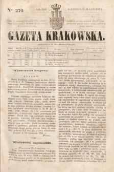 Gazeta Krakowska. 1844, nr270