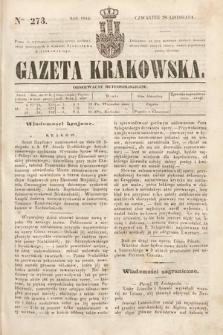 Gazeta Krakowska. 1844, nr273