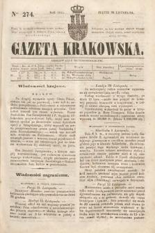 Gazeta Krakowska. 1844, nr274