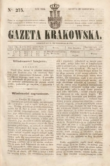 Gazeta Krakowska. 1844, nr275